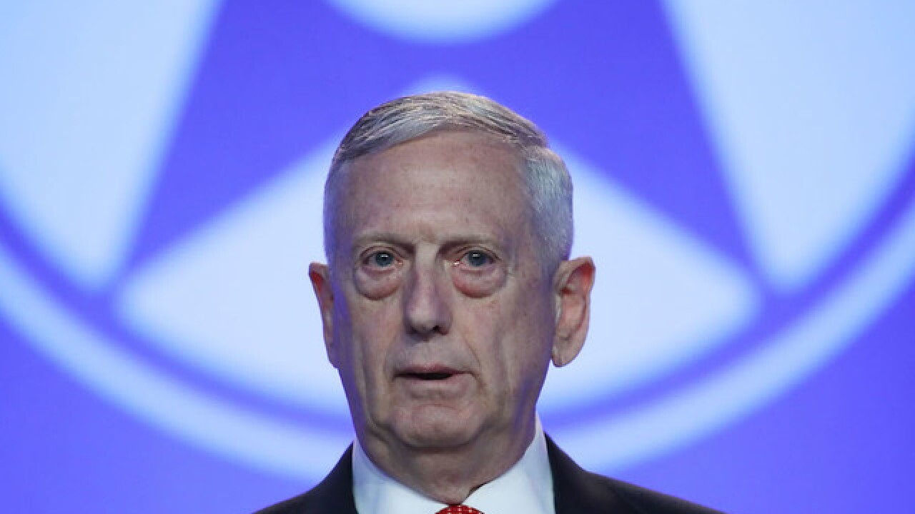 US Defense Secretary Mattis targeted in Kabul attack