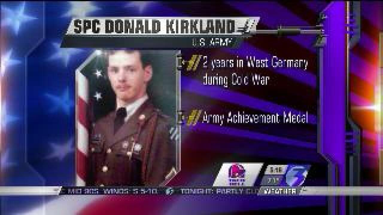 Those Who Serve: SPC Donald Kirkland
