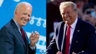 Biden, Trump to hold competing campaign events in Florida as they make final pitch