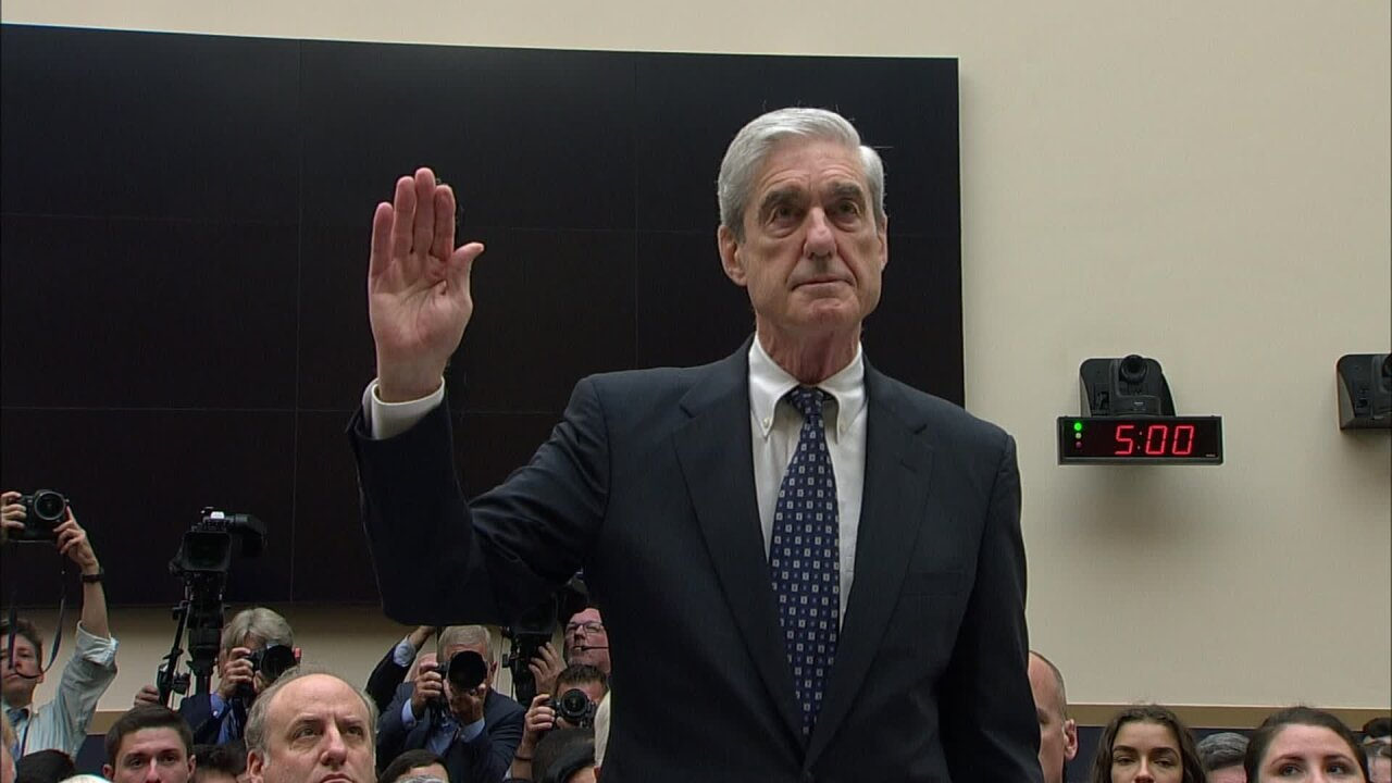 Robert Mueller says his report did not exonerate Trump but won't agree with Dems on obstruction