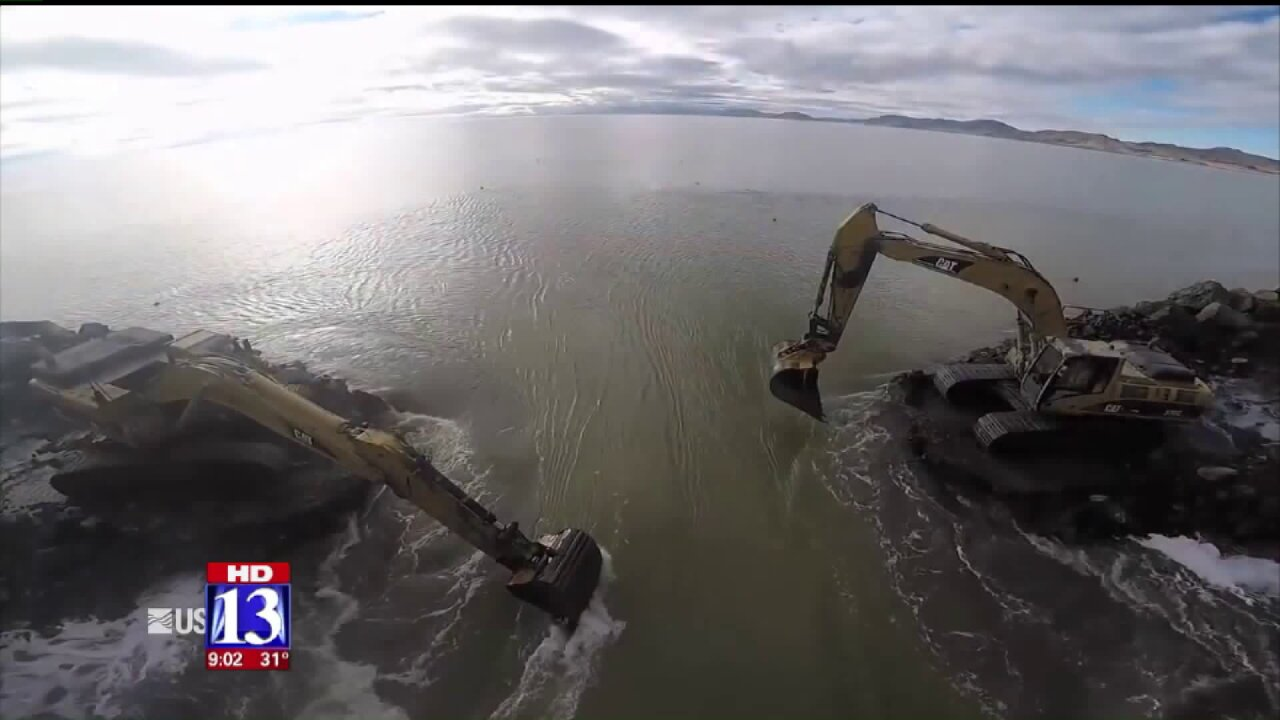 Recent snowstorms may help Great Salt Lake, Utah reservoirs return to healthy water levels