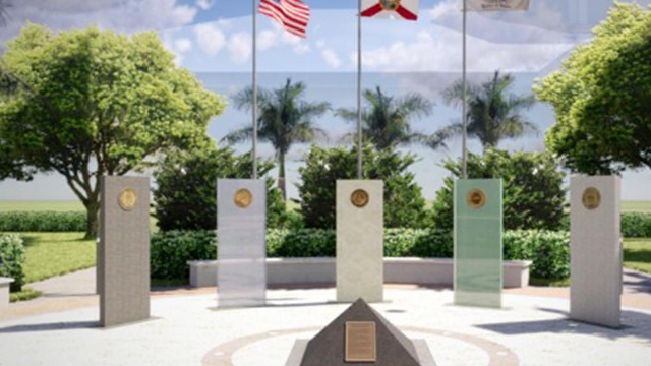 First-ever veterans memorial to be built in Jupiter