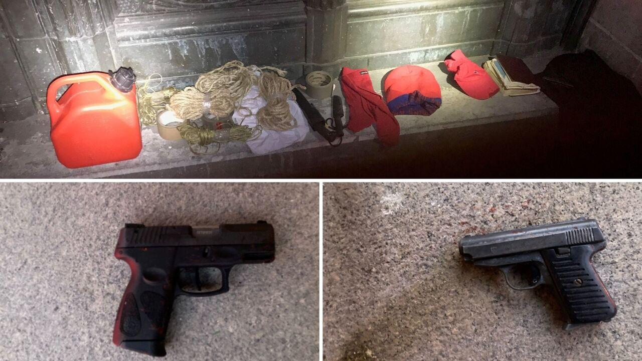 Guns-Items-Recovered-Church-Shooting-Manhattan