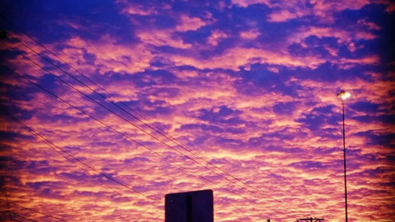 Beautiful Tulsa sunset photos