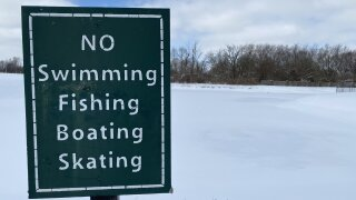 RETENTION POND WINTER SAFETY