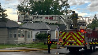 Crews responding to house fire in Great Falls