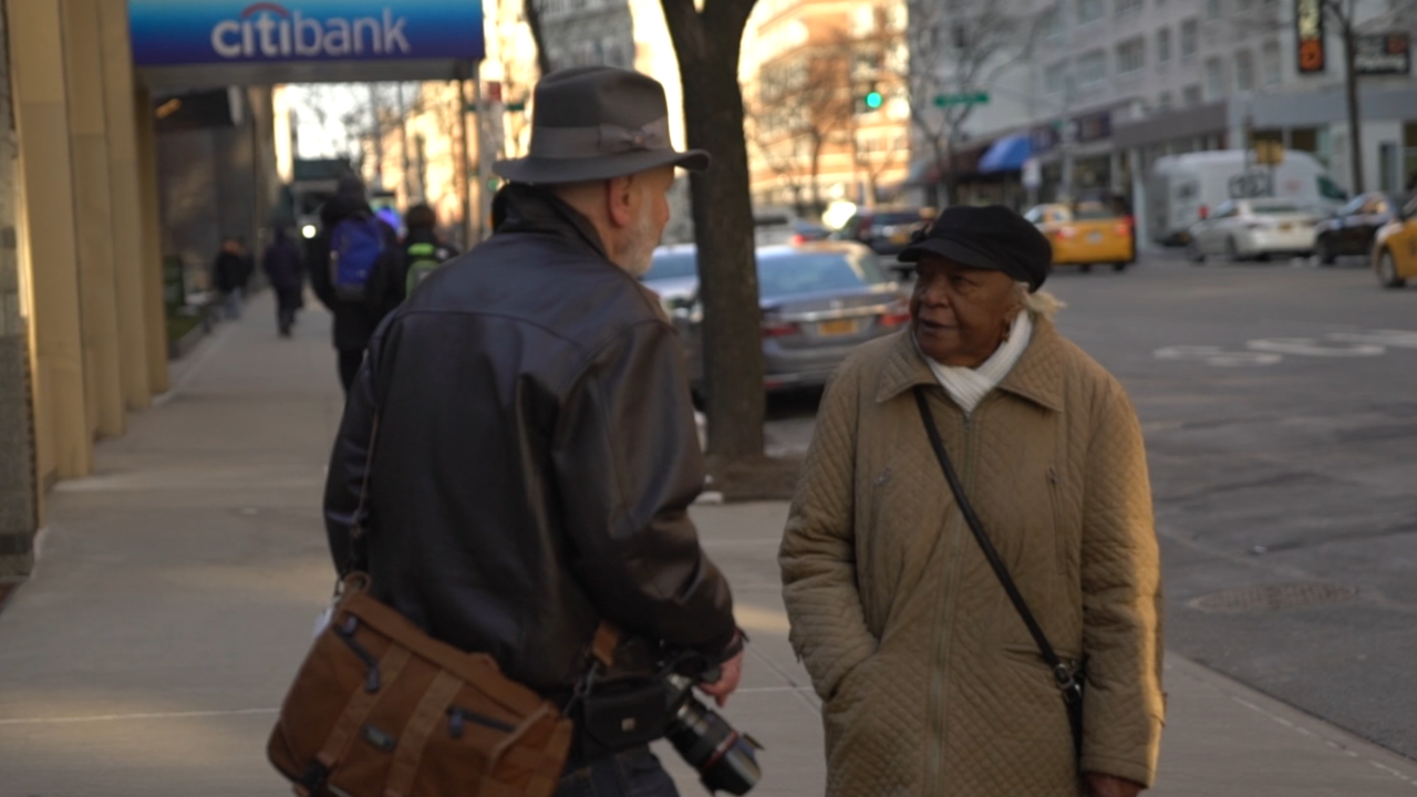 Man, 86, walks streets to tell the stories of NYC's senior residents