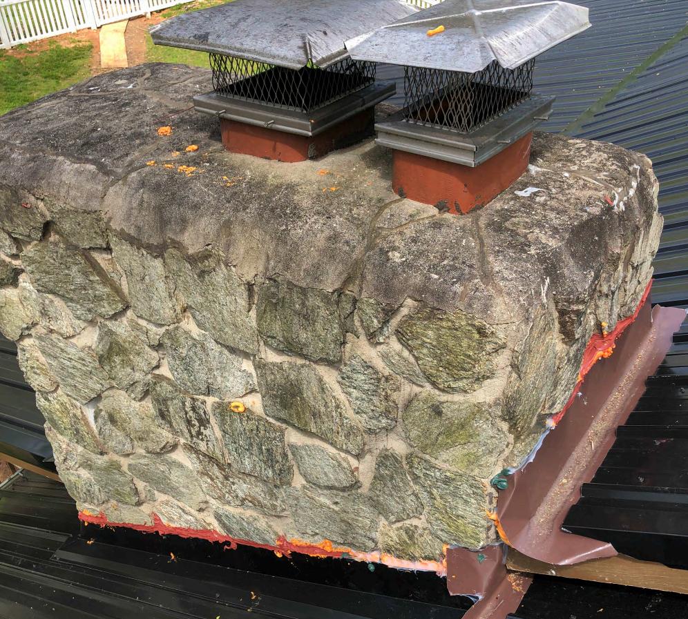 roofer damage