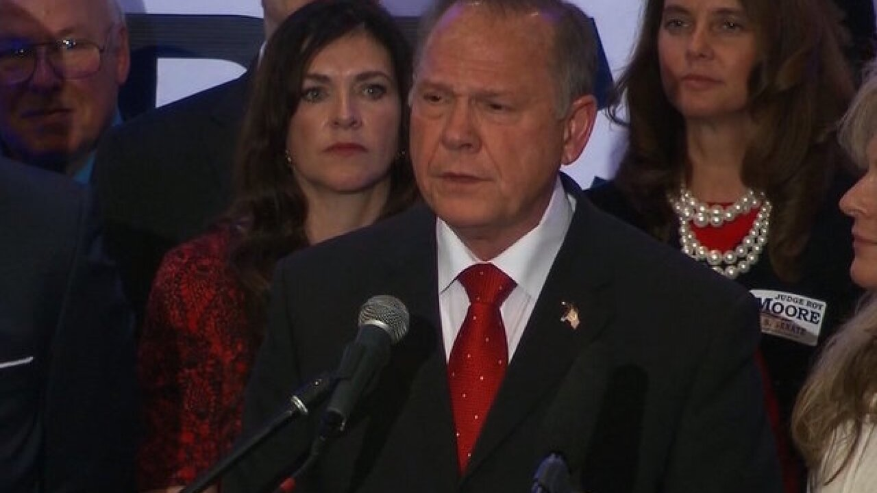 Roy Moore continues to deny mounting allegations