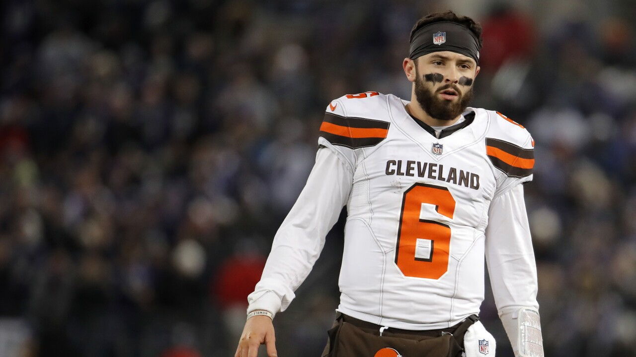 6ed2060fc37 Browns QB Baker Mayfield snubbed for NFL Rookie of the Year award