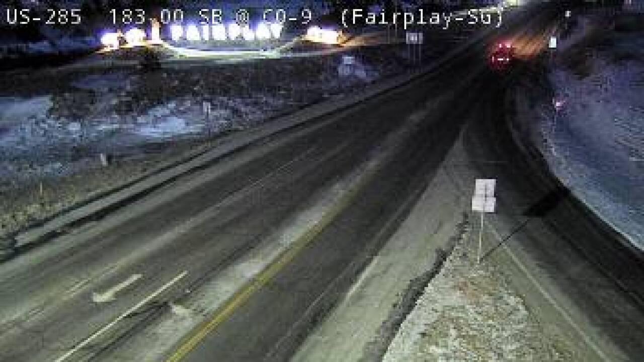 Jan 15 2021 US 285 near Kenosha Pass conditions
