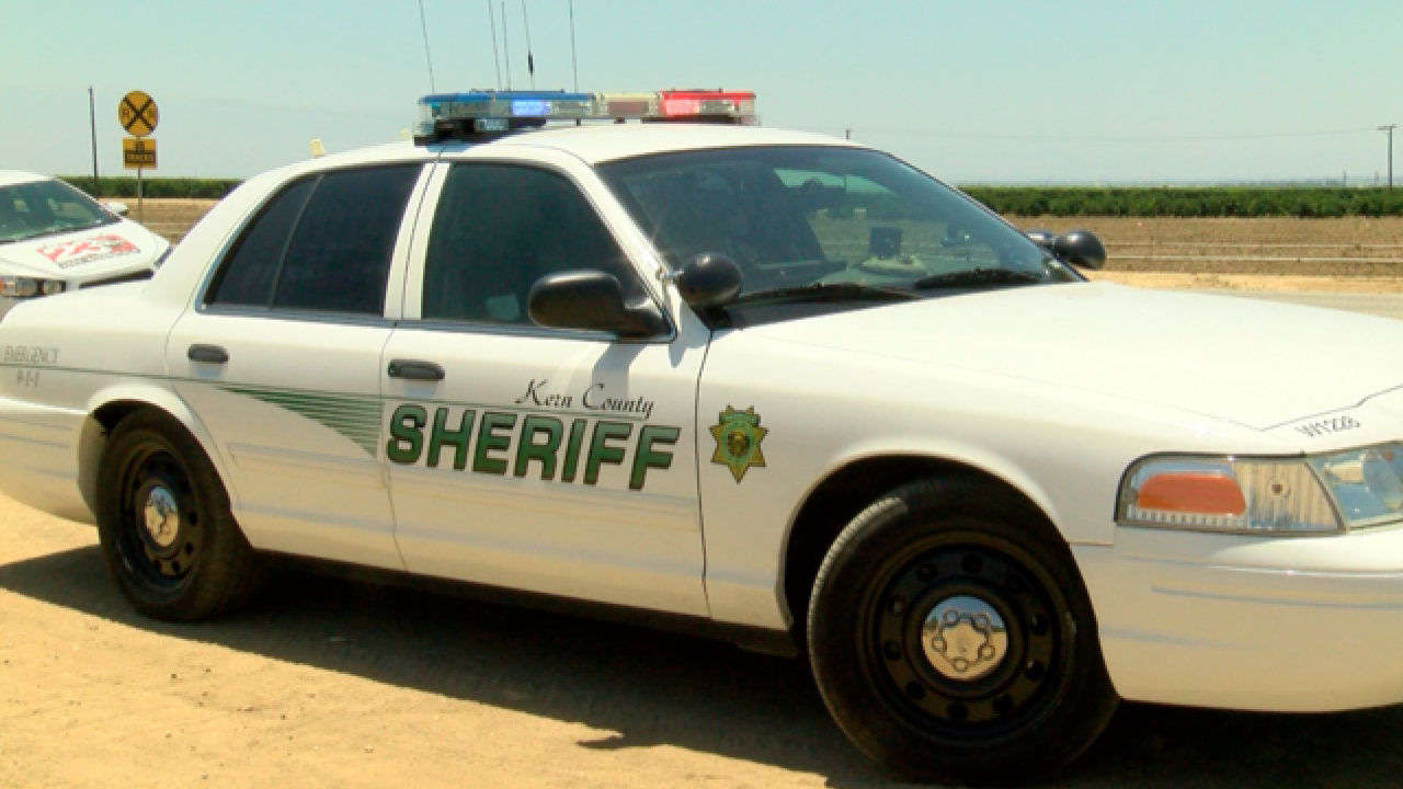 Kern County Sheriffs Office (KCSO) Patrol Car (FILE)