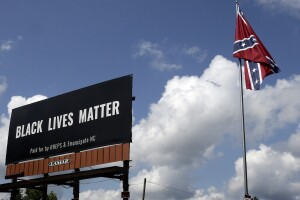 Racial Injustice BLM Billboard