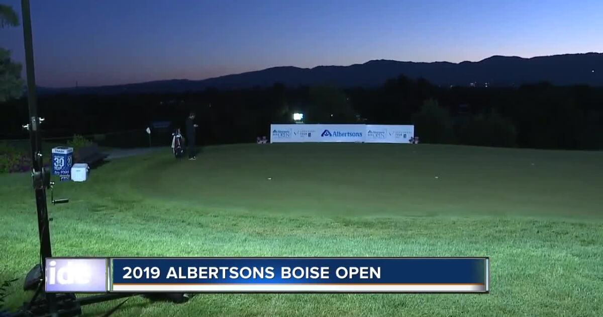Murray, Saxon share lead at Albertsons Boise Open