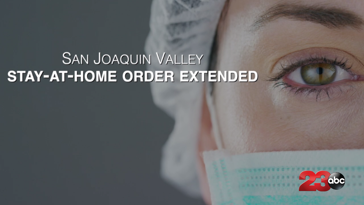 Stay At Home Order Extended