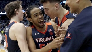 Virginia North Carolina Basketball