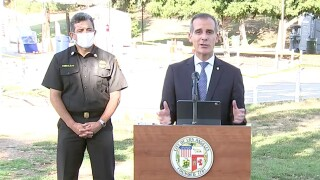 Los Angeles mayor authorizes city to shut off utilities to homes hosting large parties