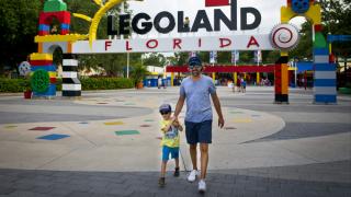 Dieter Deussen and son Julian visit LEGOLAND Florida