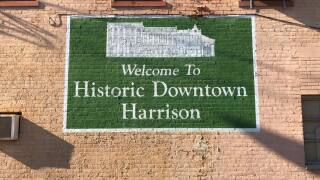 Historic downtown Harrison sign.jpg
