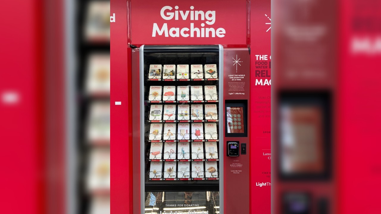 'Giving Machines' make helping those in need convenient during the holidays