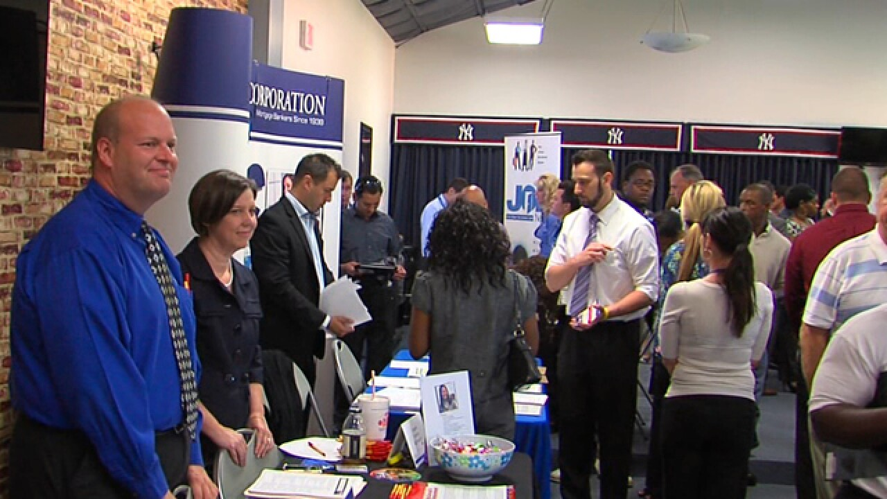 job fair at Steinbrenner Field