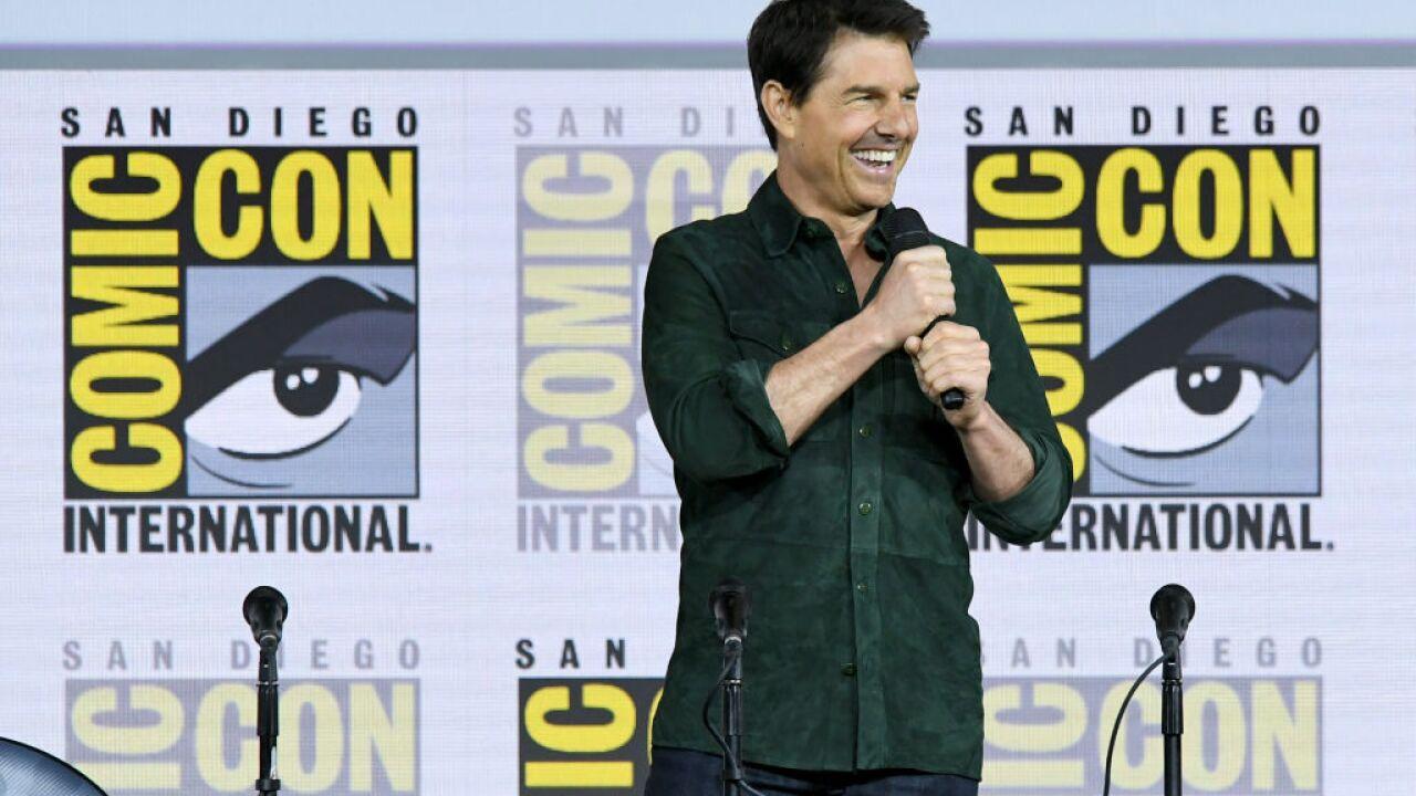 "2019 Comic-Con International - Tom Cruise Makes Surprise Appearance For ""Top Gun: Maverick"""