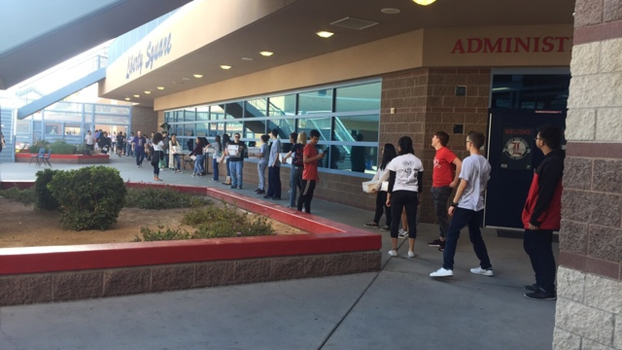 Military donation event in Henderson draws 300