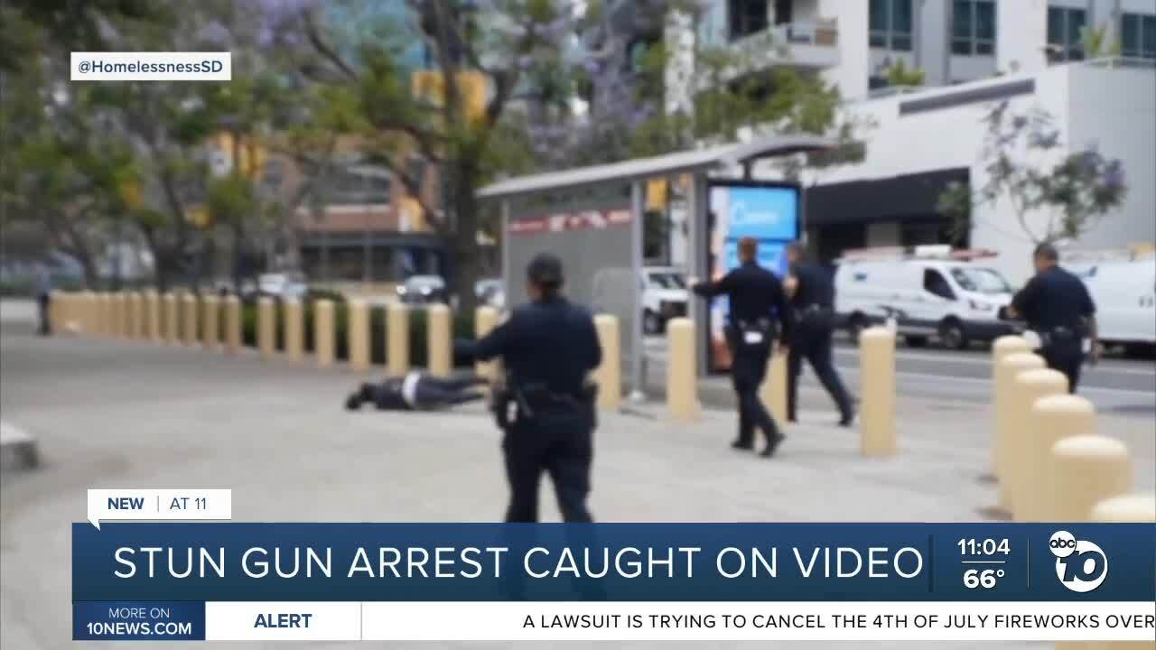 stun gun incident