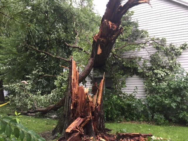 PHOTOS: Storms cause damage, flooding in central Indiana