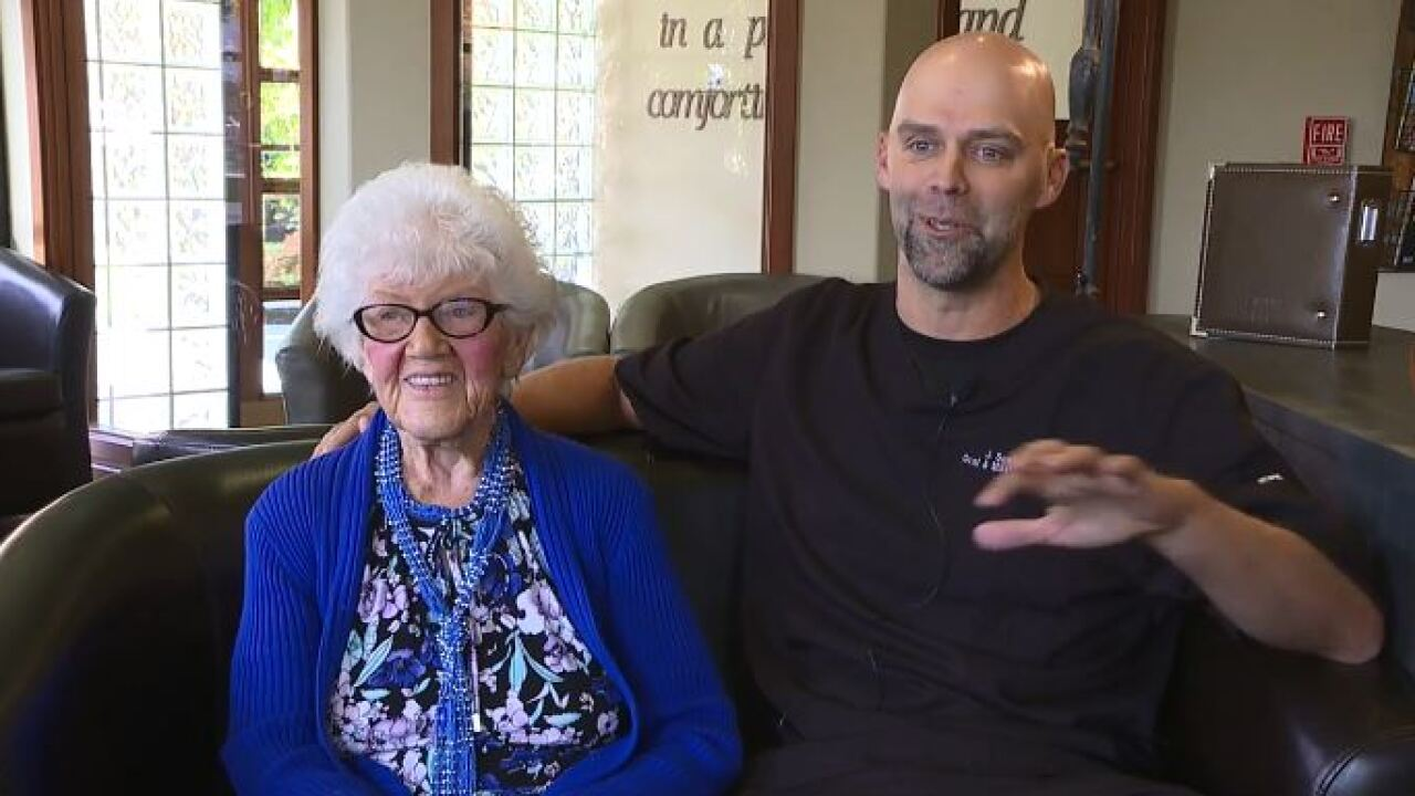 Dental surgeon makes over his grandmother's smile