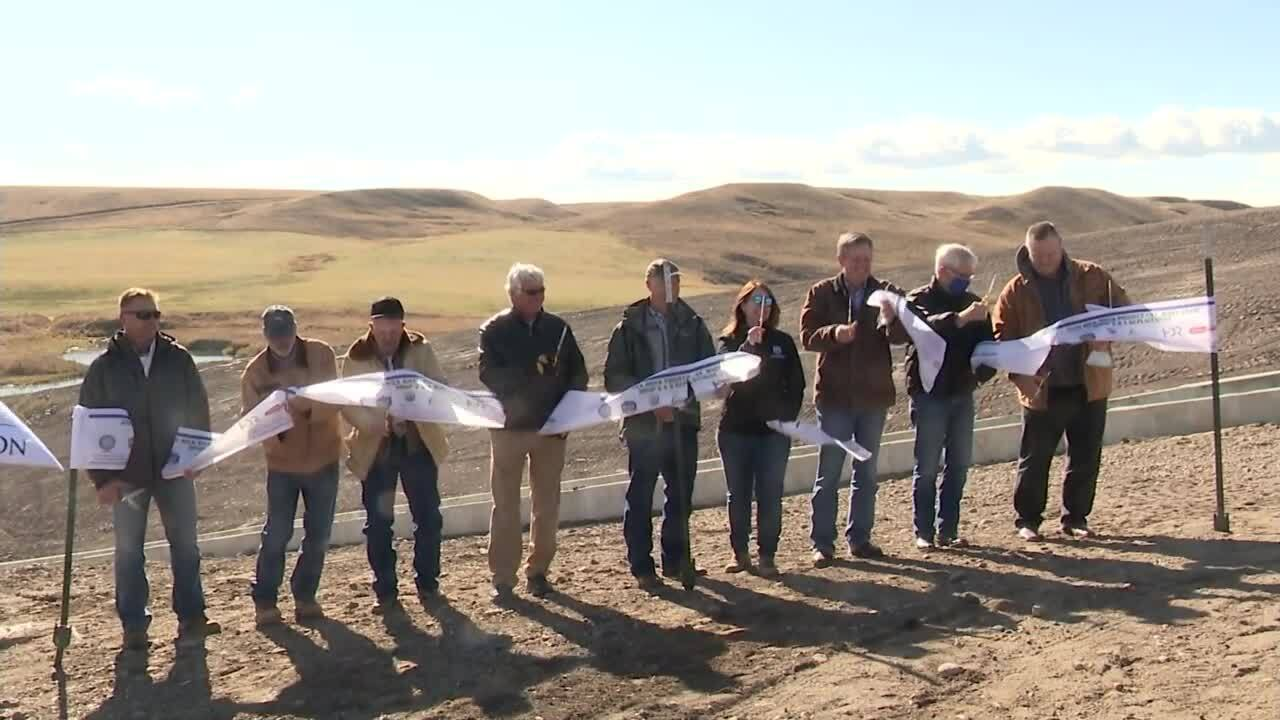 Completion of Milk River Project celebrated