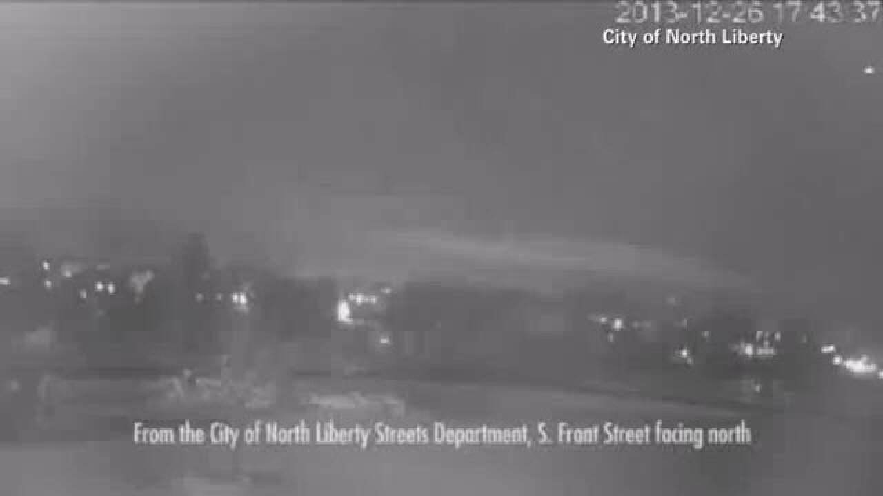 Video: Fireball streaks across Iowasky