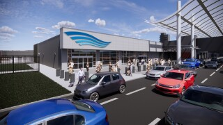 Ford Airport breaks ground on new federal inspection station