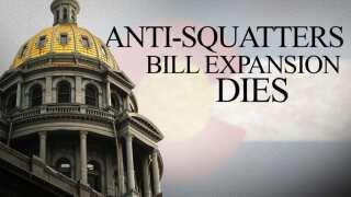 Bill to strengthen legislation against squatters fails