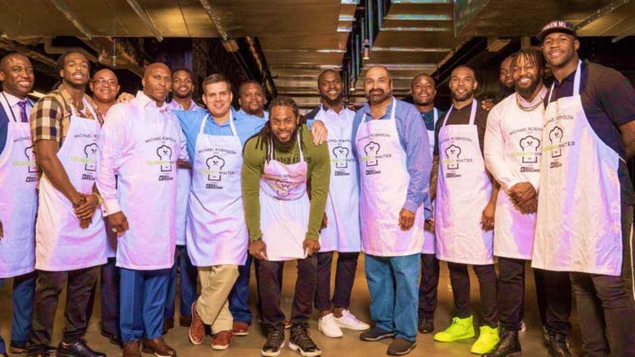 Michael Robinson's Celebrity WaiterExperience