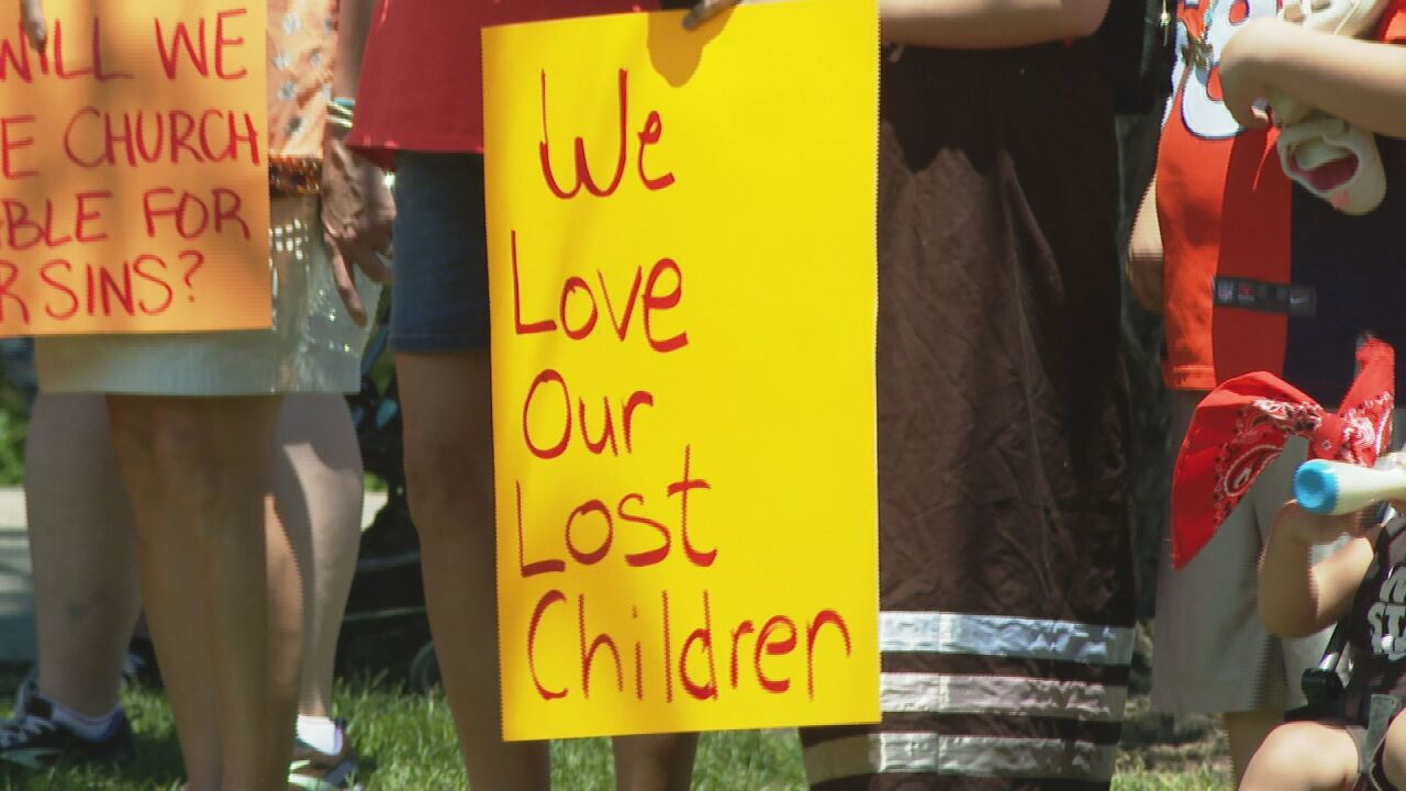 Locals march in remembrance of indigenous children found in unmarked graves at Canadian residential school