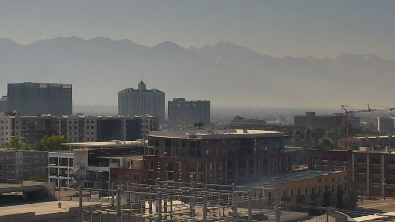 Wildfires create smoky conditions, unhealthy air for parts ofUtah