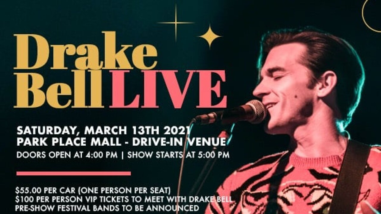 Drake Bell to perform in Tucson