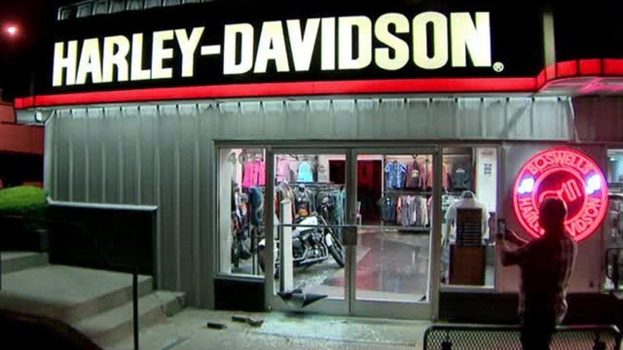 Nashville Harley Davidson >> Nashville Harley Davidson Dealership Burglarized