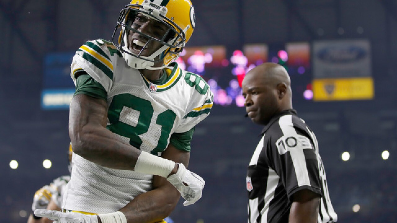Green Bay Packers wide receiver Geronimo Allison suspended for one game