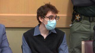 Nikolas Cruz in court before pleading guilty, Oct. 20, 2021