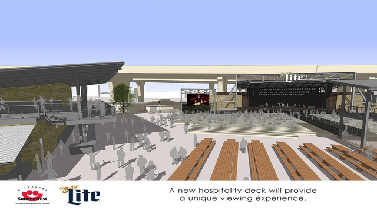 Changes coming to Miller Lite Oasis stage