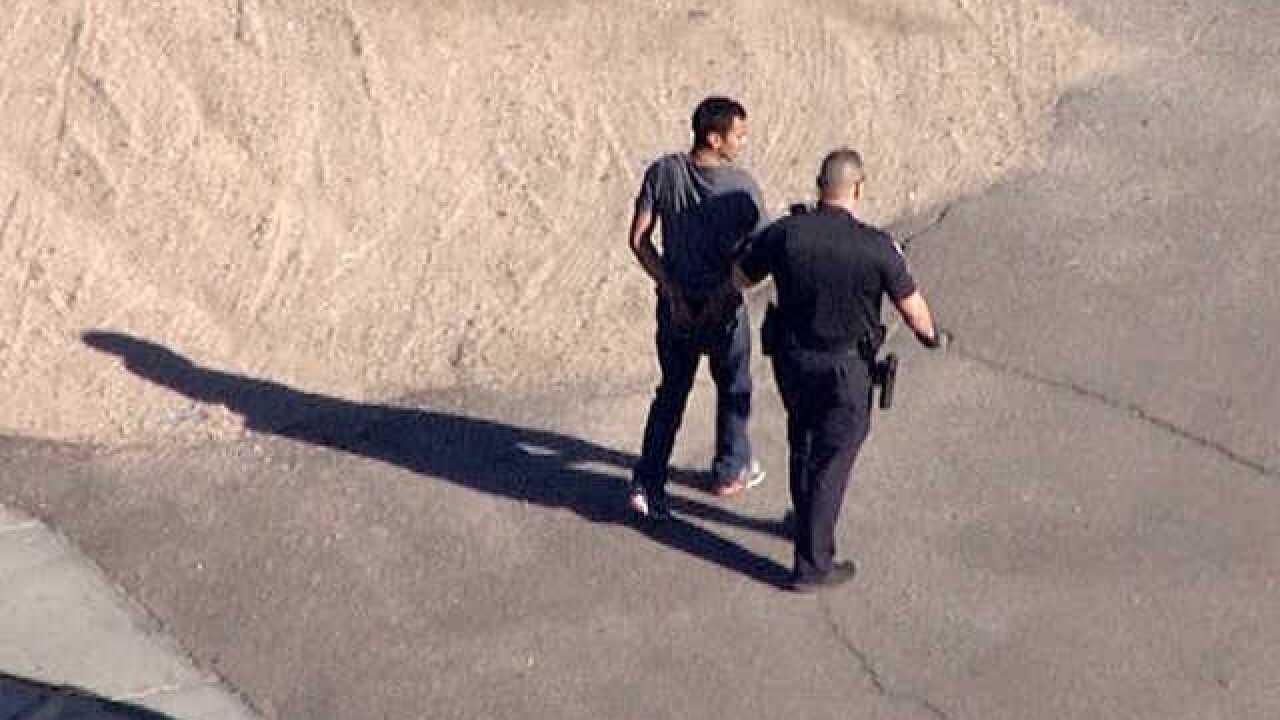 Police apprehend pursuit suspect in Phoenix