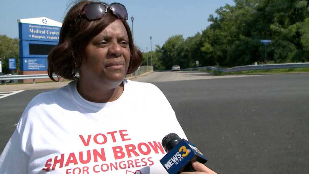 Independent candidate for Congress says she deserves to stay on the ballot amid efforts to removeher
