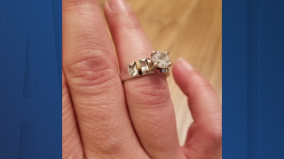 Florida couple looking to return wedding ring found in Target parking lot to owner