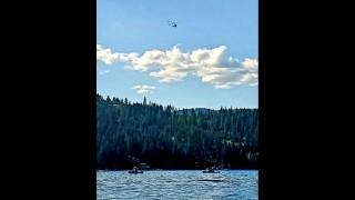 Initial reports say 8 people involved in plane crash above Lake Coeur d'Alene, two confirmed dead