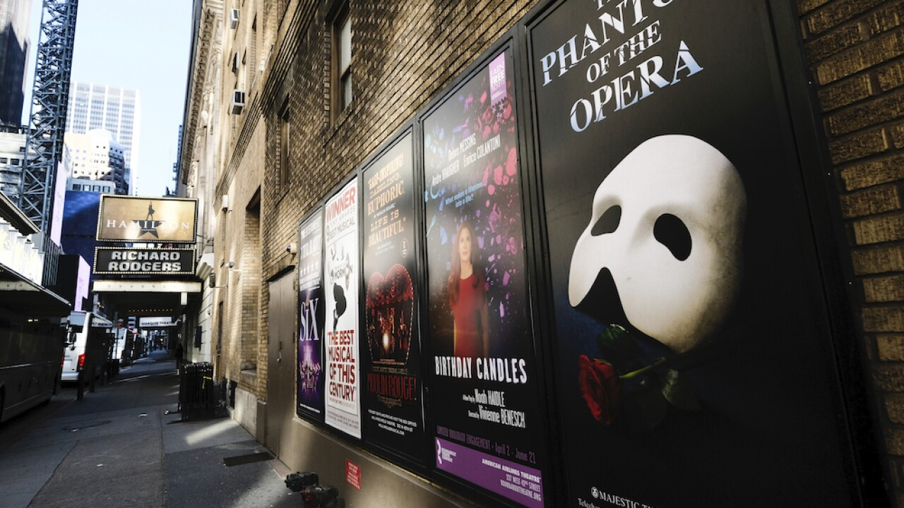 Broadway performances in New York shut down through end of 2020 due to COVID-19 pandemic