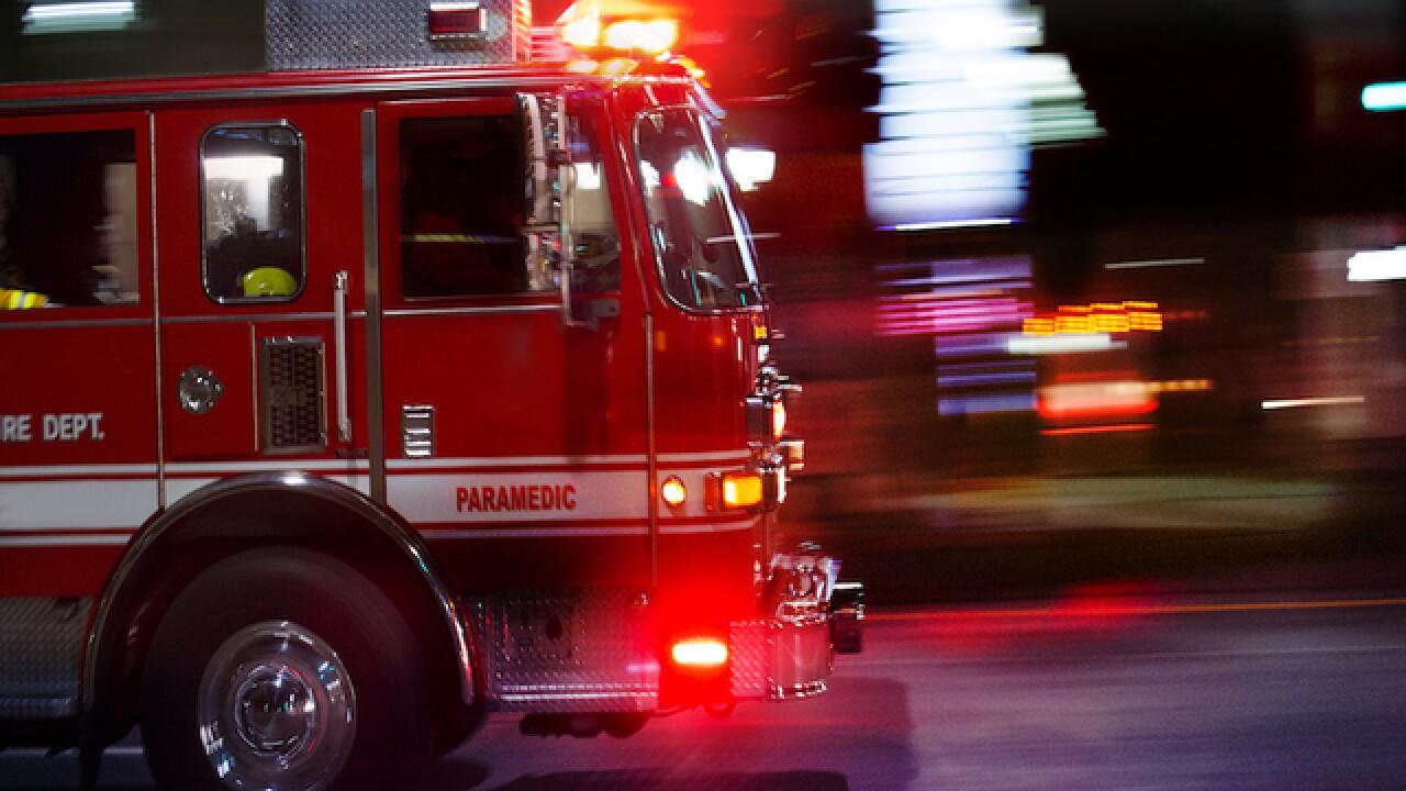Crews battling fire at Clair-Mel City home