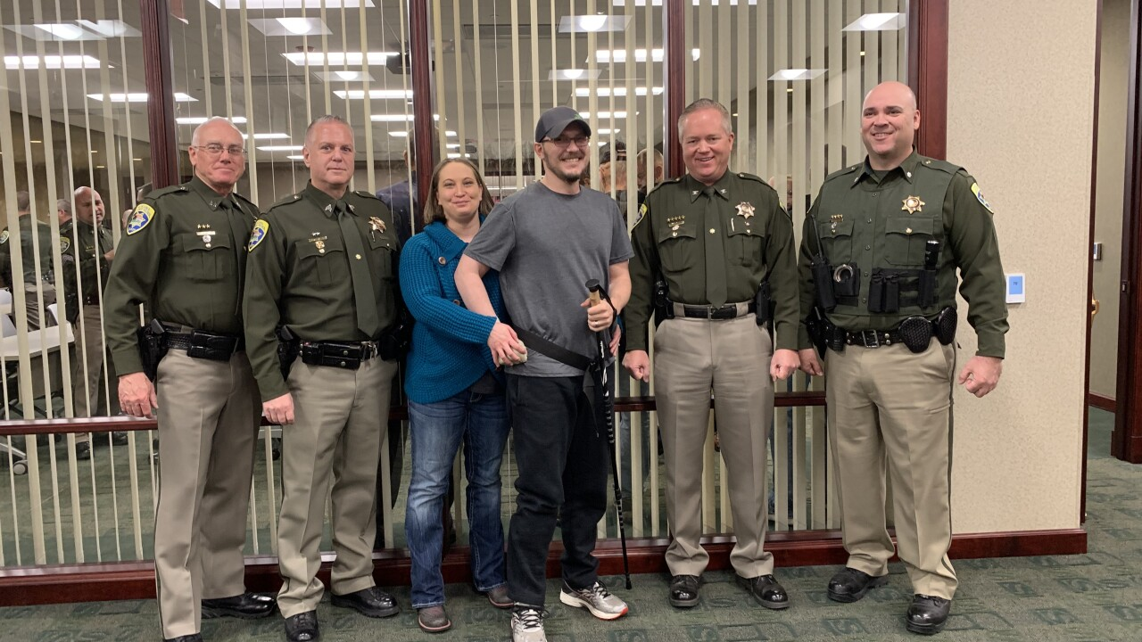 Trooper Wade Palmer retires from MHP