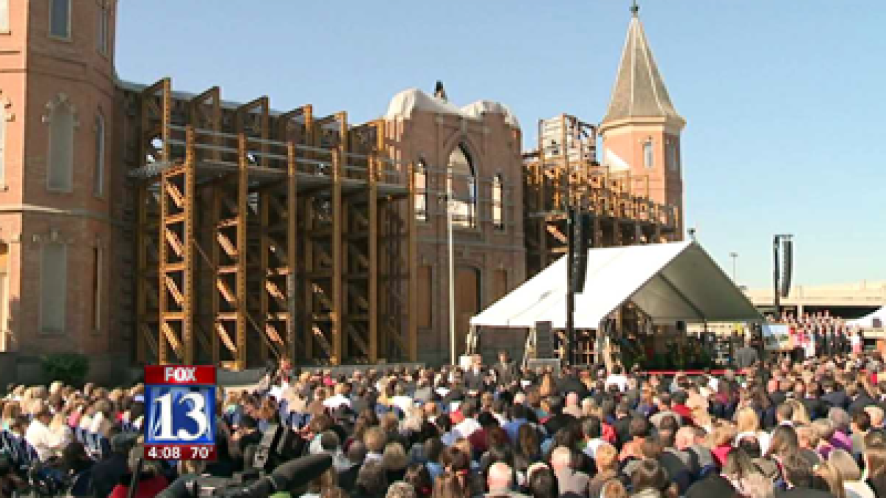 Ground broken on LDS Provo City Center Temple